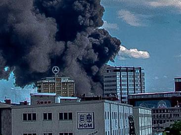 Massive Smoke Cloud Hyperlapse